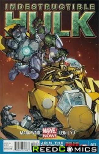 Indestructible Hulk #3 (2nd Print)