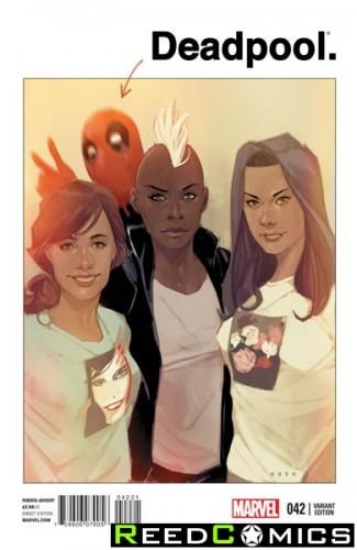 Deadpool Volume 4 #42 (Noto Variant Cover)