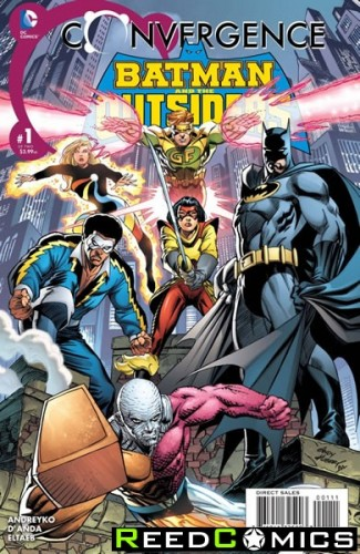 Convergence Batman and The Outsiders #1