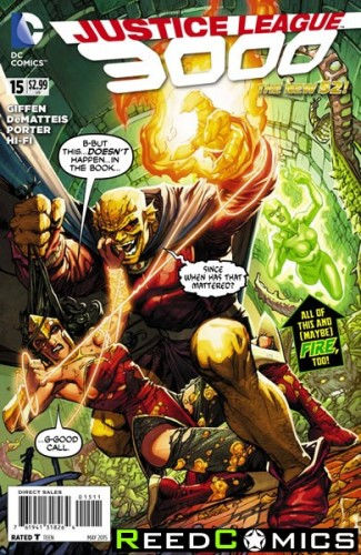 Justice League 3000 #15
