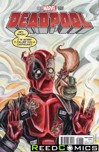 Deadpool Volume 4 #43 (Women of Marvel Variant Cover)
