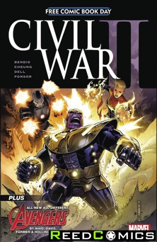 FCBD 2016 Civil War II #1 *Limit 1 Per Customer*