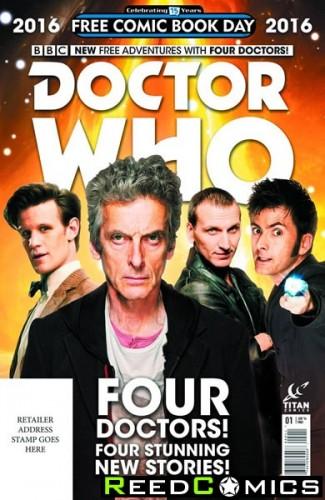 FCBD 2016 Doctor Who Special *Limit 1 Per Customer*