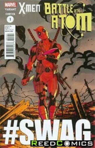 X-Men Battle of the Atom #1 (Deadpool Variant Cover)
