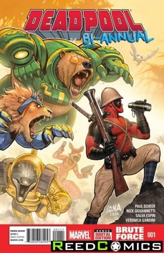 Deadpool Volume 4 Bi-Annual #1