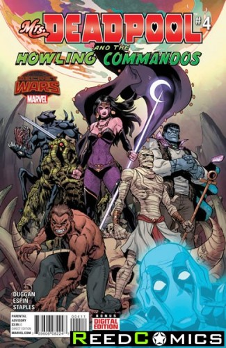 Mrs Deadpool and the Howling Commandos #4