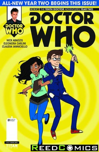 Doctor Who 10th Year Two #1 (1 in 10 Incentive Variant Cover)