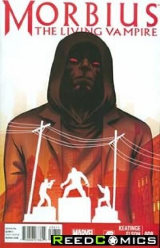 Morbius The Living Vampire #8