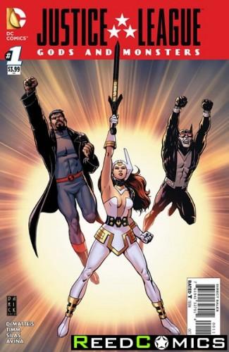 JLA Gods and Monsters Comics #1