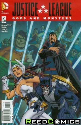 JLA Gods and Monsters Comics #2