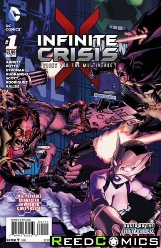 Infinite Crisis Fight for the Multiverse #1