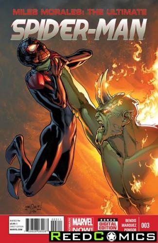 Miles Morales Ultimate Spiderman #3