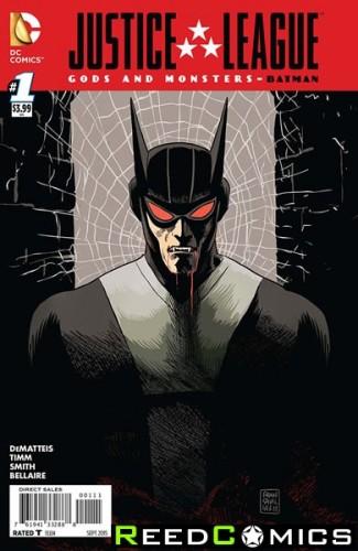 JLA Gods and Monsters Comics Batman #1