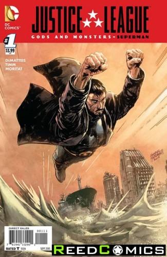 JLA Gods and Monsters Comics Superman #1