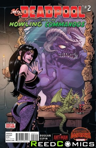 Mrs Deadpool and the Howling Commandos #2
