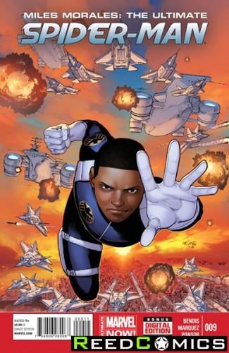 Miles Morales Ultimate Spiderman #9