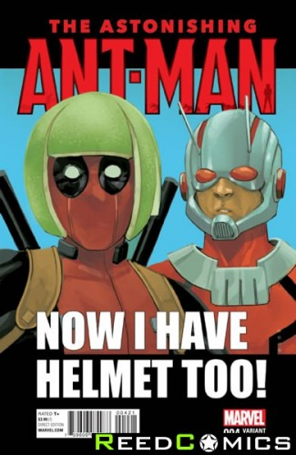 Astonishing Ant Man #4 (1 in 10 Deadpool Incentive Variant Cover)
