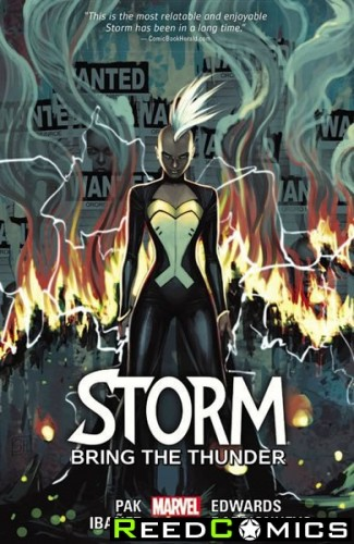 Storm Volume 2 Bring Thunder Graphic Novel