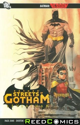 Batman Streets of Gotham Volume 2 Leviathan Graphic Novel