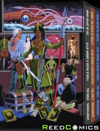 League of Extraordinary Gentlemen Nemo Trilogy Slipcase Edition Hardcover