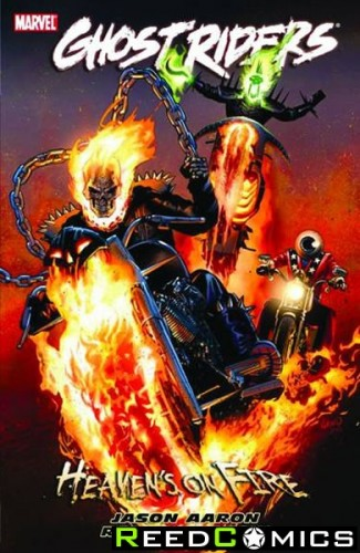 Ghost Riders Heavens On Fire Graphic Novel