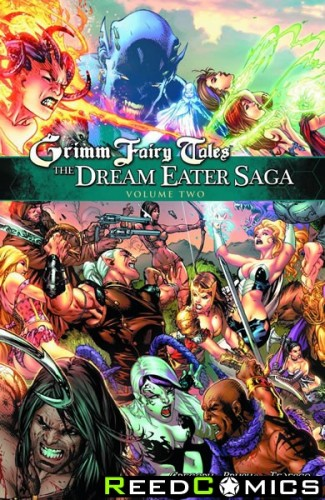 Grimm Fairy Tales The Dream Eater Saga Volume 2 Graphic Novel