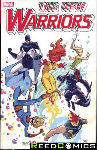 New Warriors Volume 1 Omnibus Hardcover Young Cover