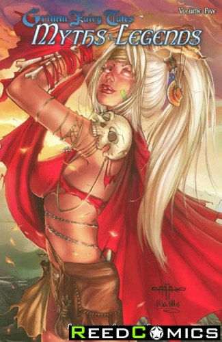 Grimm Fairy Tales Myths and Legends Volume 5 Graphic Novel