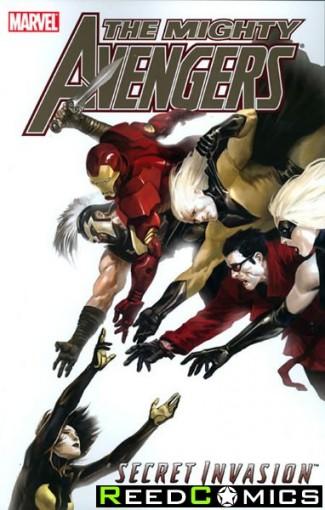 Mighty Avengers Volume 4 Secret Invasion Book 2 Graphic Novel