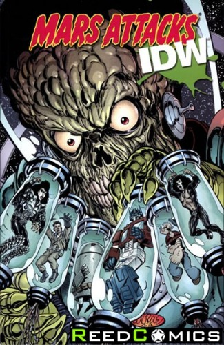 Mars Attacks IDW Graphic Novel