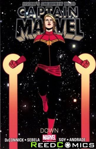 Captain Marvel Volume 2 Down Graphic Novel