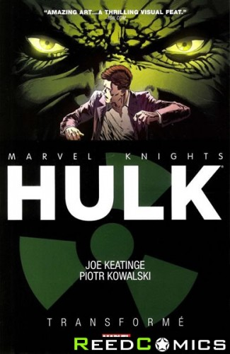 Marvel Knights Hulk Transforme Graphic Novel