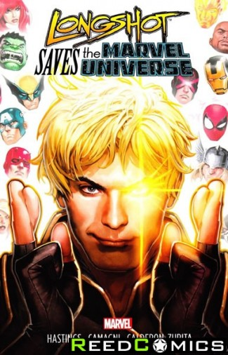 Longshot Saves The Marvel Universe Graphic Novel