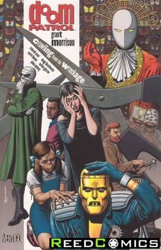 Doom Patrol Volume 1 Crawling From The Wreckage Graphic Novel