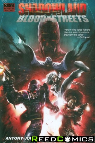 Shadowland Blood on the Streets Premiere Hardcover