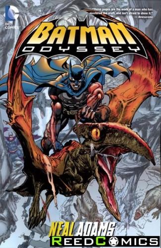 Batman Odyssey Graphic Novel