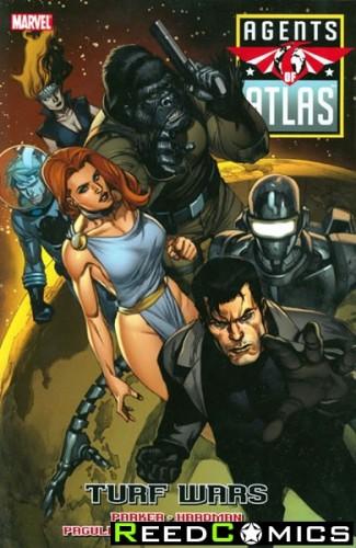 Agents of Atlas Turf Wars Graphic Novel