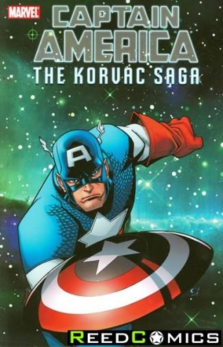 Captain America and the Korvac Saga Graphic Novel