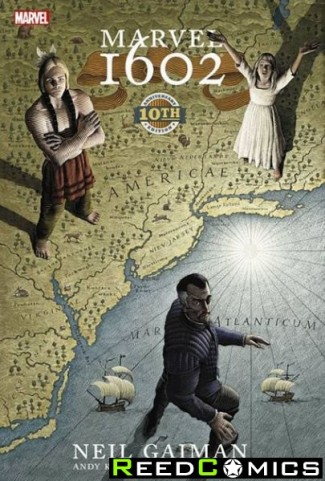 Marvel 1602 Hardcover 10th Anniversary Edition