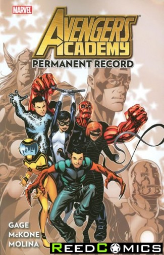 Avengers Academy Volume 1 Permanent Record Graphic Novel