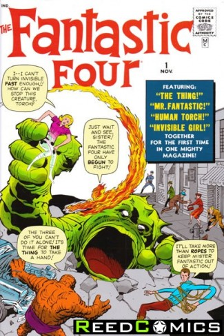 Fantastic Four Omnibus Volume 1 Hardcover