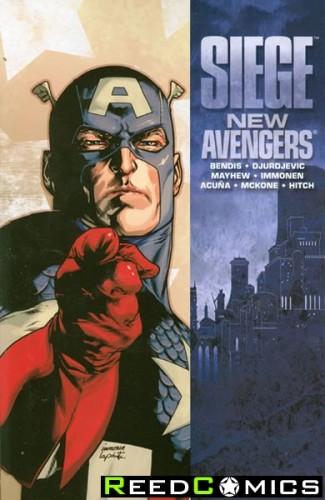 Siege New Avengers Graphic Novel