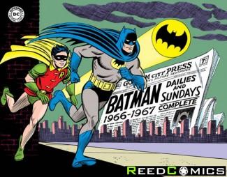 Batman Silver Age Newspaper Comics Volume 1 1966-1967 Hardcover