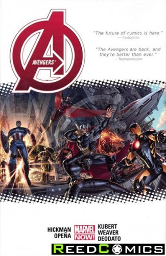 Avengers by Jonathan Hickman Volume 1 Oversized Hardcover