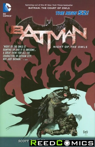 Batman The Night Of The Owls Hardcover