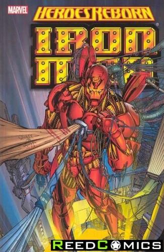 Heroes Reborn Iron Man Graphic Novel