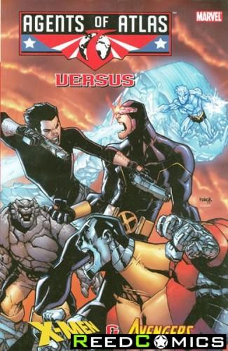 Agents of Atlas vs Graphic Novel