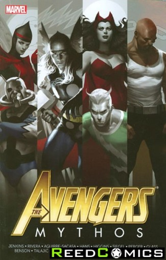 Avengers Mythos Graphic Novel