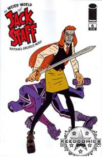 Weird World of Jack Staff #6