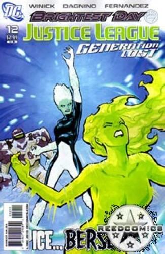 Justice League Generation Lost #12